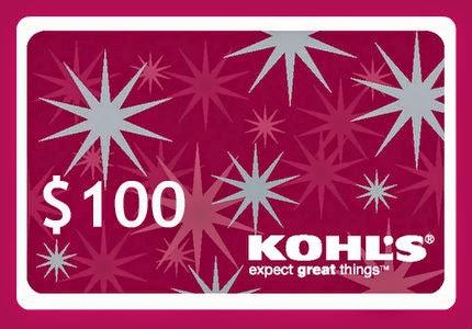 $100 kohl's giftcard