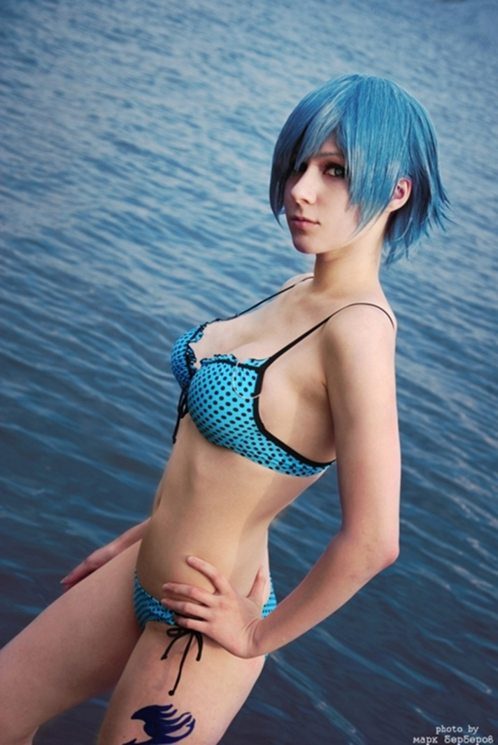 Animegirlsfantasi Hot Fairy Tail Cosplay By Ginkiri