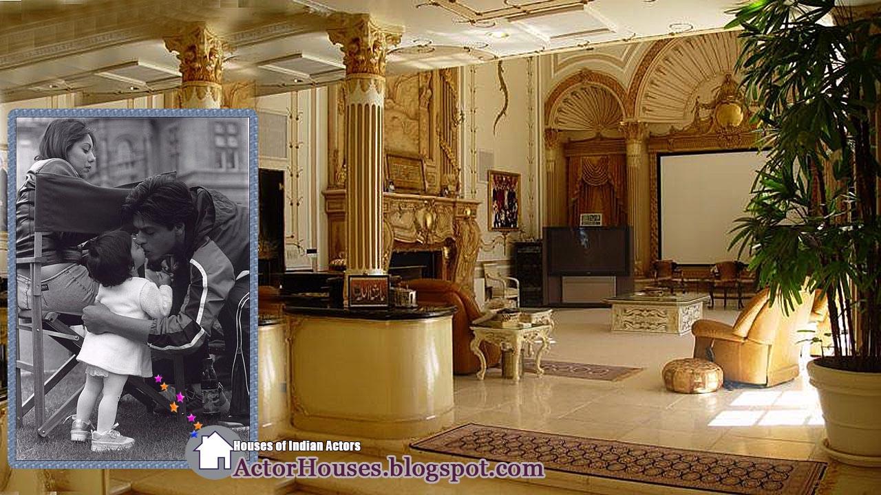 Interior Designs Of Bollywood Actor Sharukh Khanu0027s House