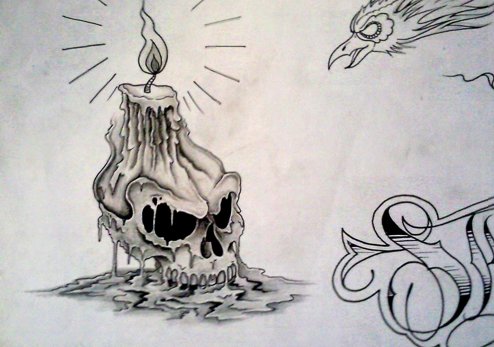 skull tattoos unique and skulls on