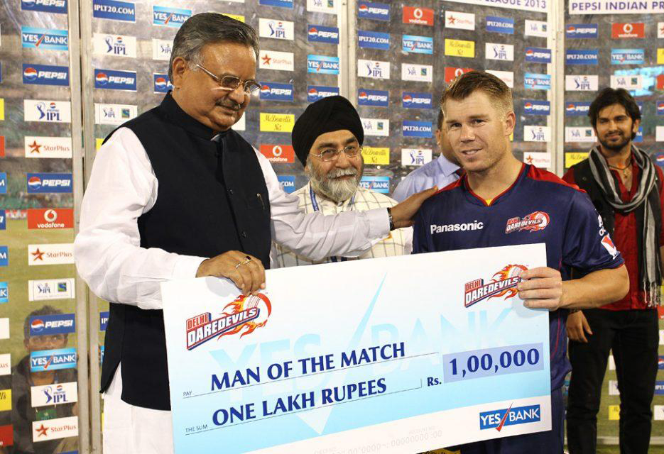 David-Warner-Man-of-the-Match-DD-vs-PWI-IPL-2013