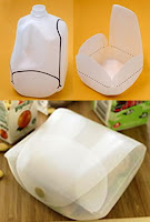 Recycling a Bottle into a Lunchbox