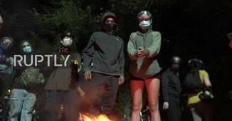 Organizațiile Antifa și BLM din SUA au început să ardă Biblii