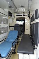 A ambulância começa a circular logo após a instalação de alguns equipamentos