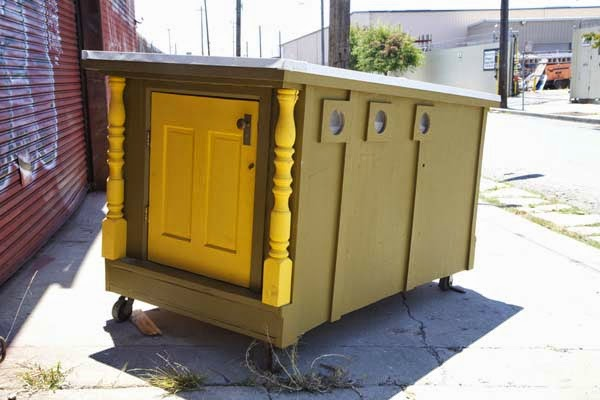 I've Seen People Turn Garbage Into Some Cool Stuff. But THIS…. This Is Absolute Brilliance. - his focus seems to be on helping them build homes...