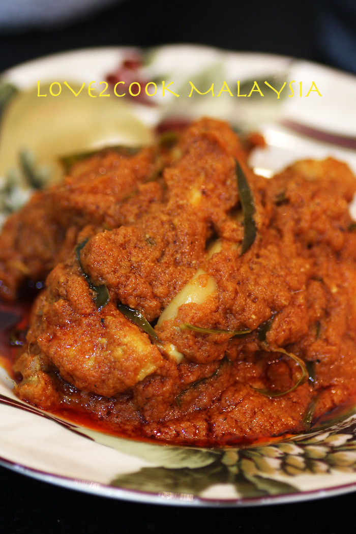 LOVE2COOK MALAYSIA♥: Spicy Chicken Rendang...
