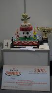 Mój zwycięski tort na Expo sweet 2012