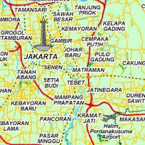 Peta Jakarta