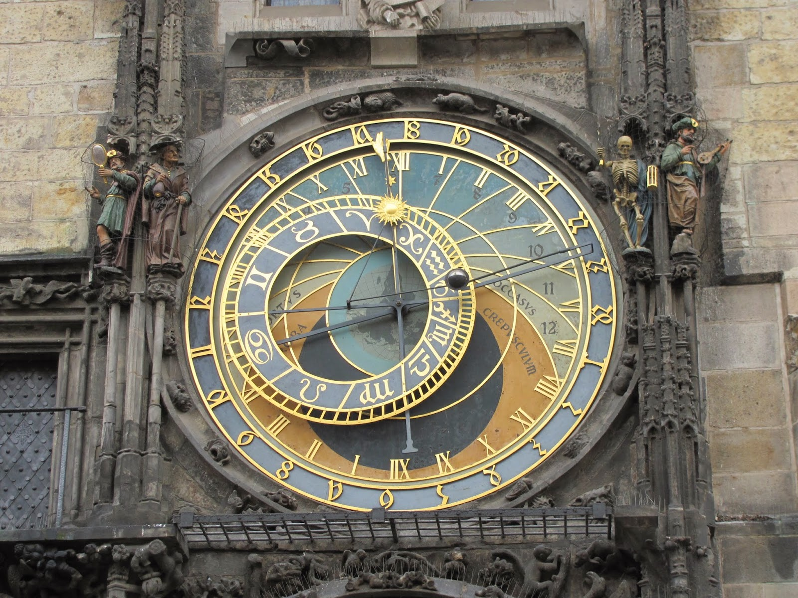 Astronomical Clock Face Prague