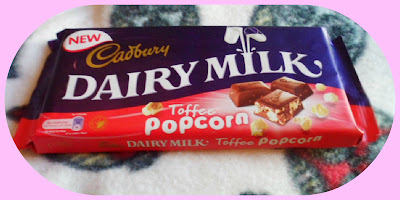 Cadbury chocolate popcorn