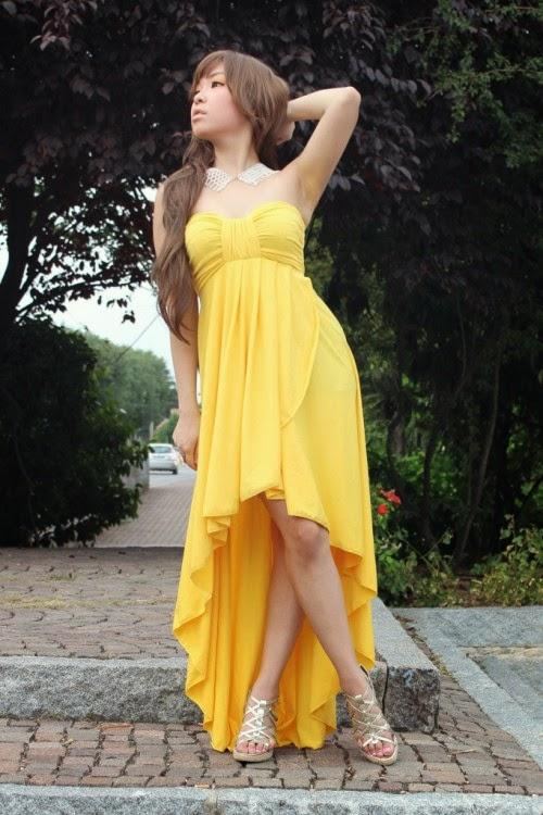 Maxi Dress Terbaru Dari Korea