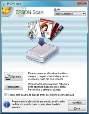 EPSON Scan for L210
