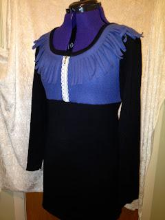 Gjenbruk - redesignet kjole/tunika