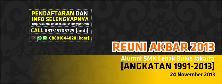 Alumni SMK Lebak Bulus Jakarta