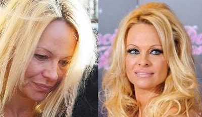 Pam Anderson with no make-up