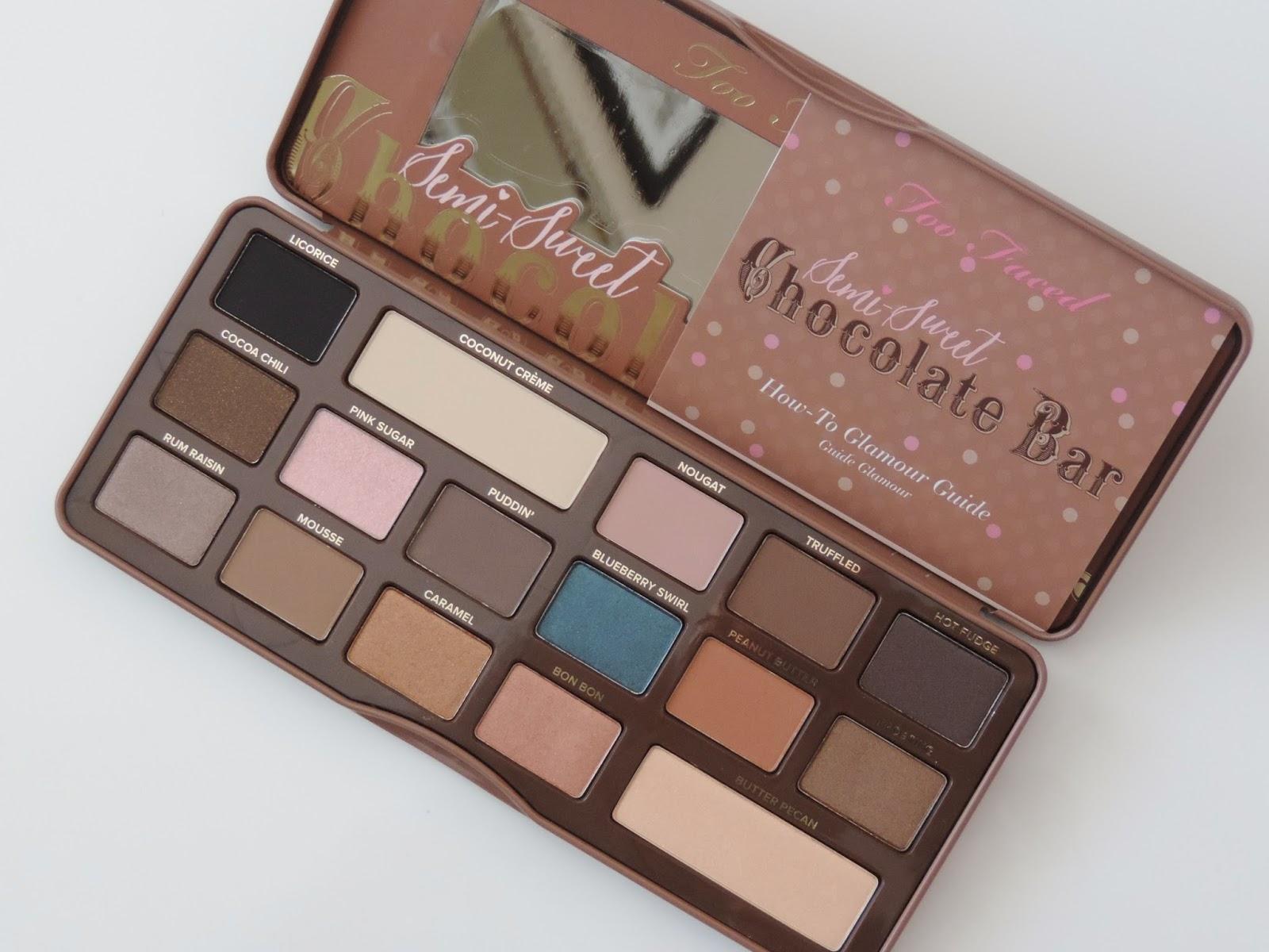 Leona's Looks: Too Faced Semi Sweet Chocolate Bar palette