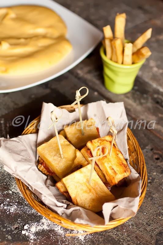 panissa sandwich per il 100% gluten free (fri)day
