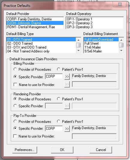 The Dentrix Office Manager: Type I or Type II NPI - What's the ...