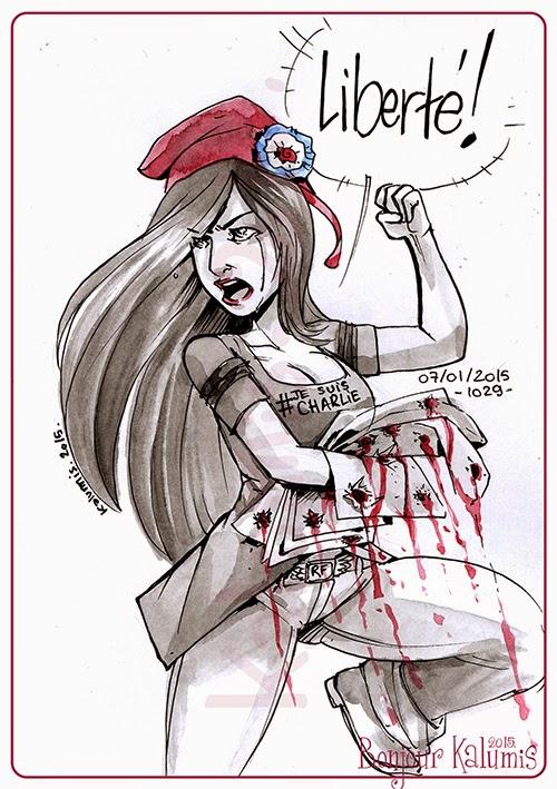 charlie hebdo jesuischarlie charb cabu wolinski caricature attentat