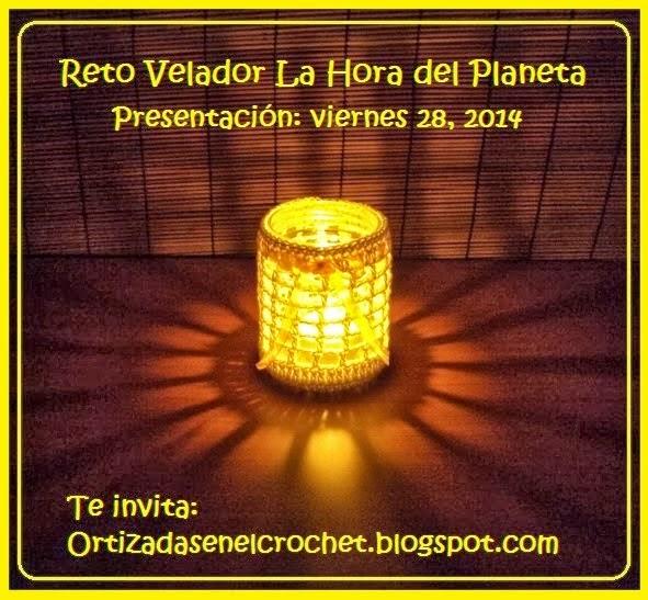 Reto Velador La Hora del  Planeta.