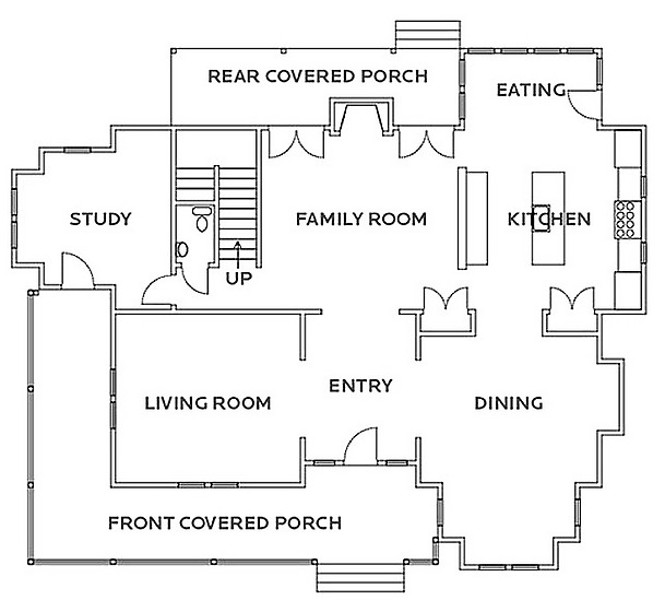 Hgtv house plans dream homes plans 2nd level floor plans for Dream home floor plans