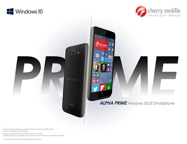 Cherry Mobile Alpha Prime Windows 10