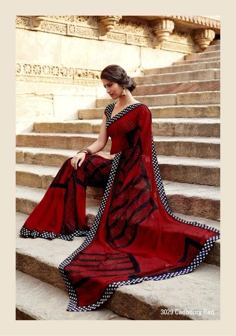 Laxmipati - Krishna Kali Saree Collection 2014