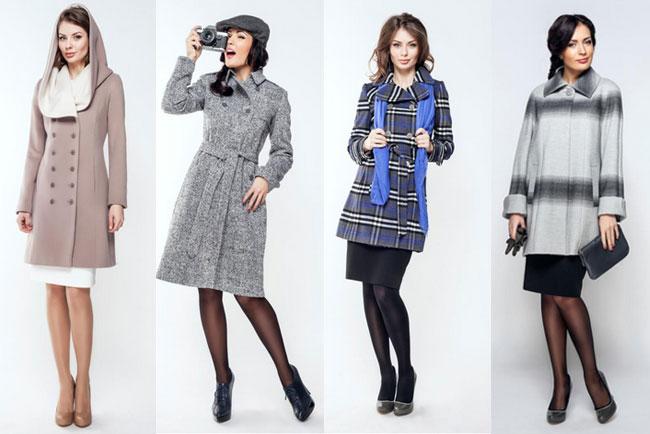 пальто для різних типів фігури