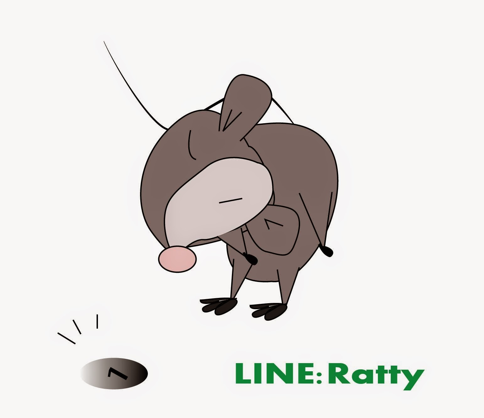 Ratty Gift Line Stickers
