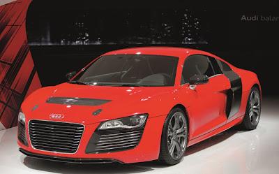 2013 E-tron Audi R8 Concept