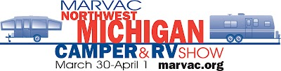 20th Annual Northwest Michigan Camper & RV Show is coming to the Grand Traverse County Civic Center, March 30-April 1