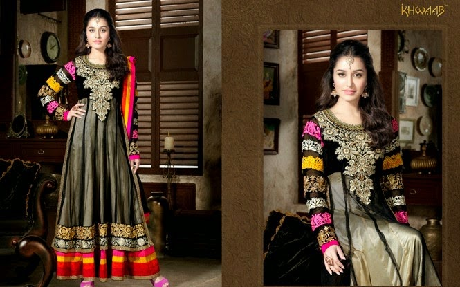 Elegant Anarkali Dresses 2014 By Memsaab