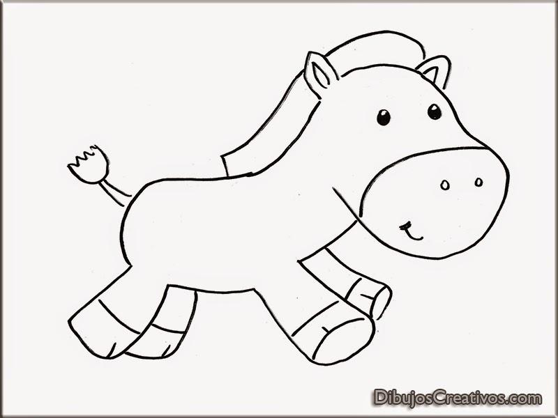 Dibujos para colorear de Cebra Bebé - Imágenes Dibujos para Colorear ...