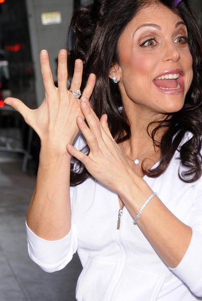 bethenny frankel. Bethenny Frankel Diamond Ring