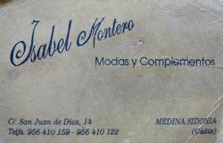 modas Isabel Montero