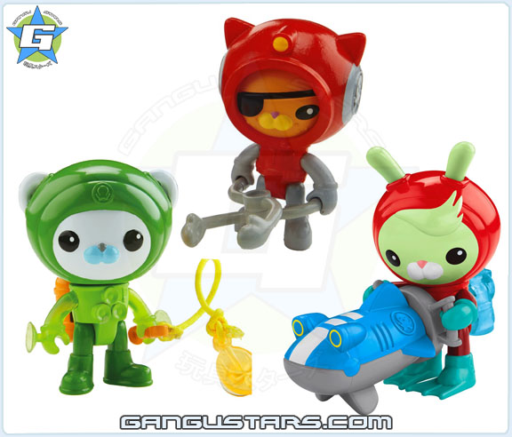 Octonauts Barnacles Suit Tweak Scooter Kwazii Volcano figures 2015 new オクトノーツ キャプテン・バーナクルズ ディズニー Fisher-Price mattel