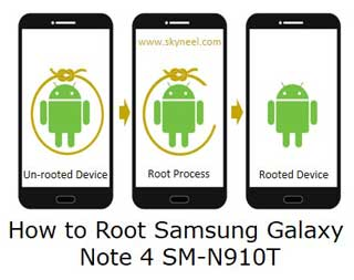Root Samsung Galaxy Note 4 SM-N910T by simple tutorial