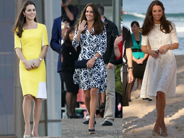 Duchess of Cambridge Australia Tour lookbook