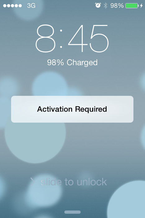 iOS 7 Activation fix iPhone