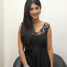 Sruthi Hassan in Black Dress at Oh My Friend Audio Launch Pics