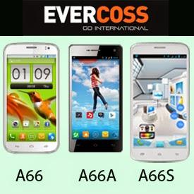 Perbedaan Evercoss A66, Elevate Y A66A dan Elevate Z A66S