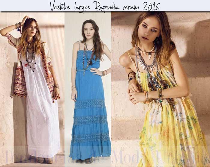 vestidos largos Rapsodia 2016