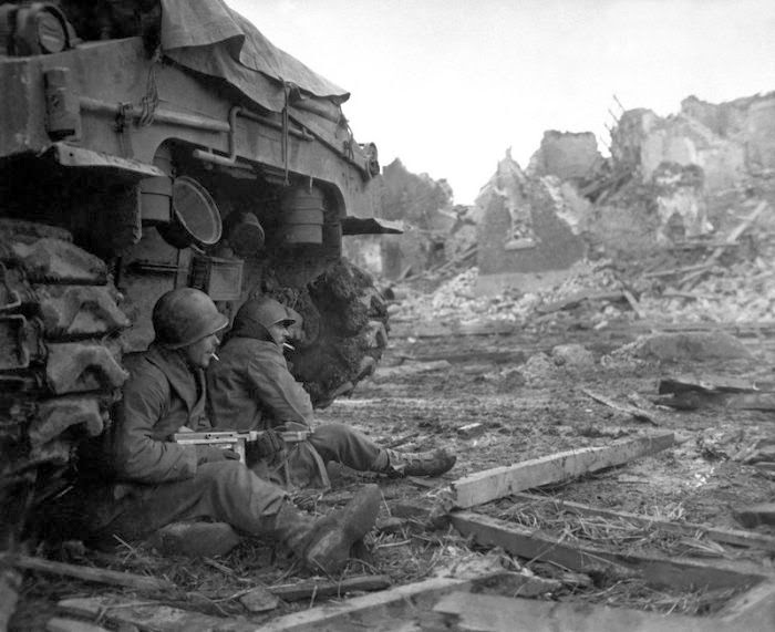 americas combat experience in the second world war