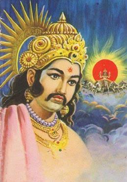 Karna, Shri krishna and Indra story, Hindi, Kahani, Katha,