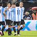 Gol del Kun para la goleada argentina