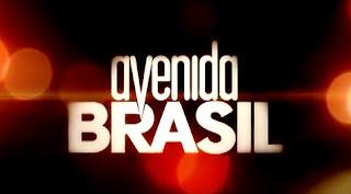 novela avenida brasil logo  Momento Novela: Avenida Brasil