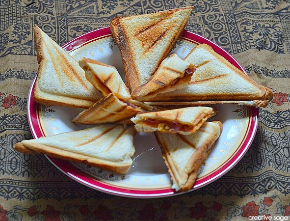 how to make bhujiya sandwich