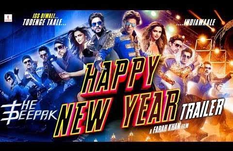 HNY Songs Happy New Year - ShahRukh Khan, Deepika Padukone