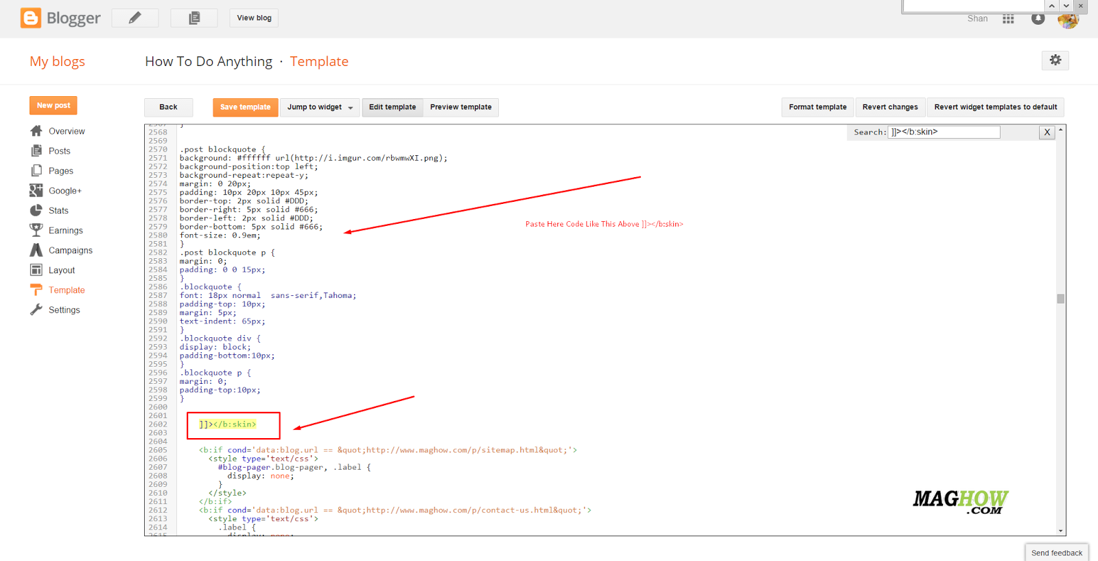 How To Display HTML CSS Or JavaScript Code In Blogger Posts