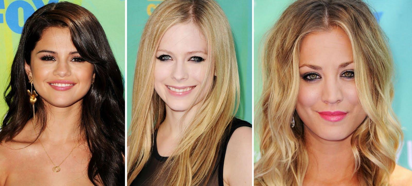 teen choice1 As melhores maquiagens do Teen Choice Awards 2011
